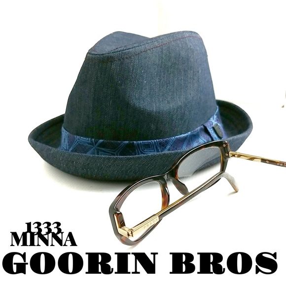 Goorin Bros Other - Goorin Bros Rare Minna 1333 Fedora Size Medium